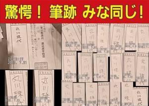 安倍内閣の支持率 yahooや十勝毎...